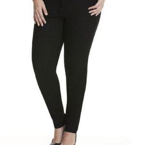Lane Bryant Black Skinny Jean's size 14